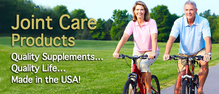 Joint Care Supplements Made in the USA