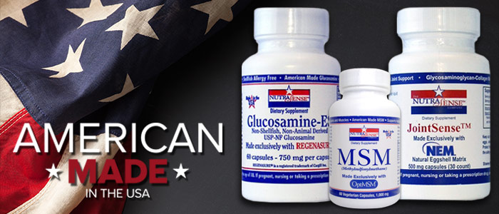 Nutrasense - Quality American Made Supplements